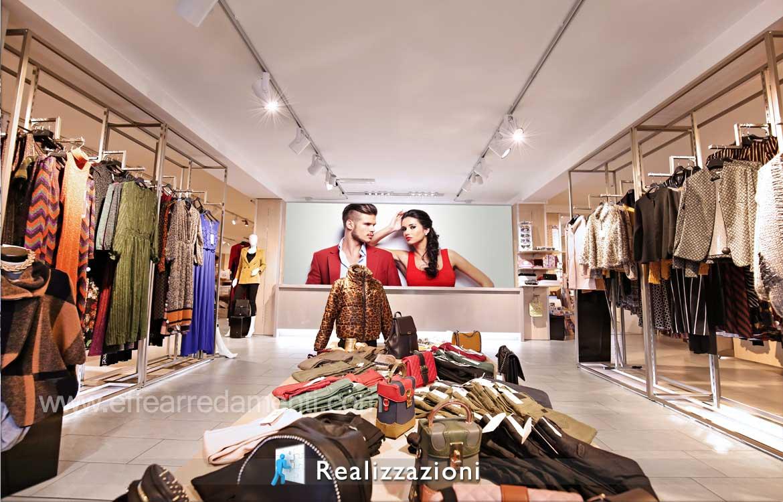 idea design negozi abbigliamento uomo donna