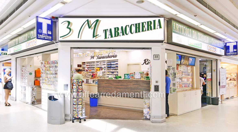 Réalisations meubles magasins - Tabaccheria