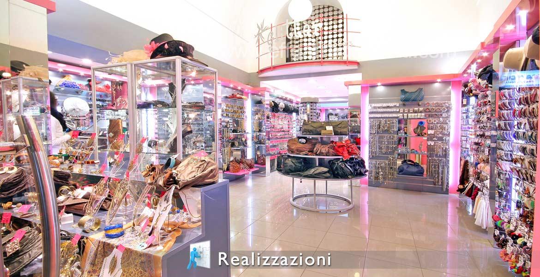 Realizzazioni arredamenti negozi - Bigiotteria - Accessori Moda