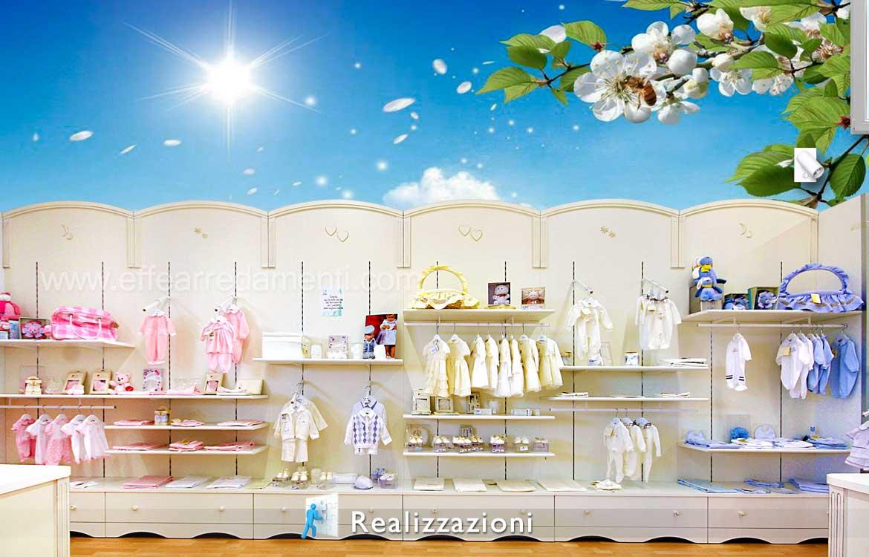 Realizzazione arredamento negozi - Bambini, Neonati