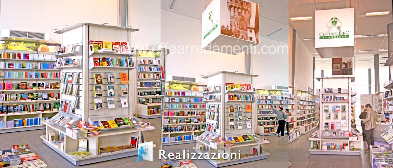 Realizzazione arredamento negozi - Libreria
