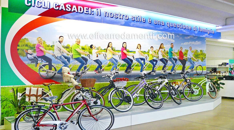 Arredamento Negozio Biciclette Ferrara