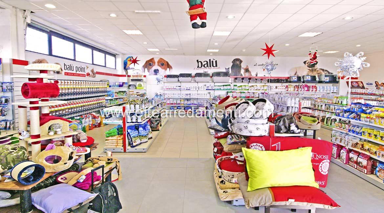 Arredamento negozio a roma articoli per animali effe arredamenti