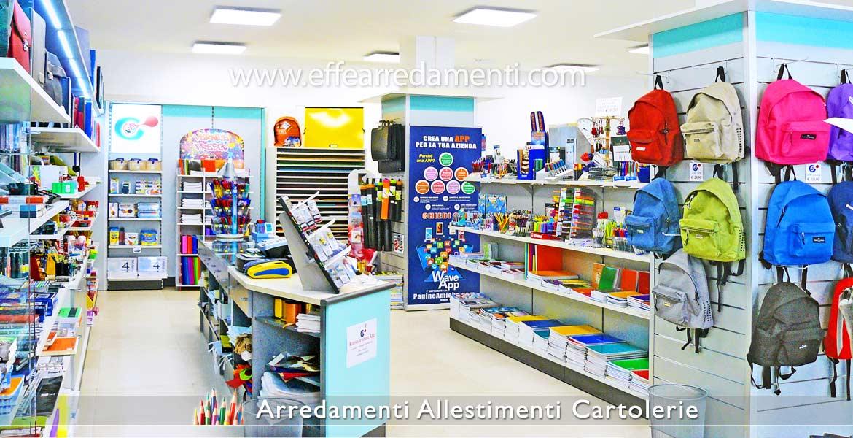 Arredamenti per cartolerie e cartolibrerie effe arredamenti for Negozi arredamento rimini