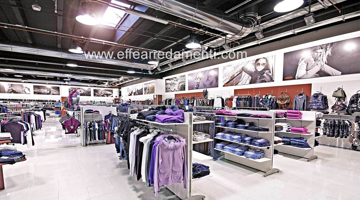 Set up of the Super Store Furniture Shop Clothing Man Woman Child Bracciano Roma