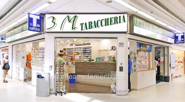 Arredamento negozio a Bologna: Tabaccheria - Effe Arredamenti
