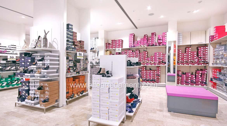 Allestimento negozio scarpe tr81 regardsdefemmes for Bergamin arredamenti mestre