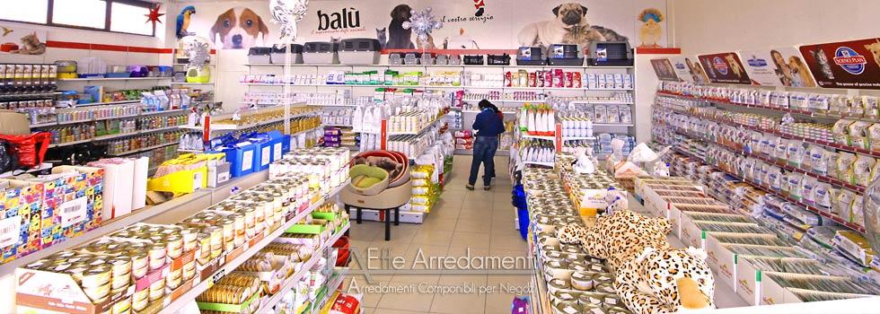 Arredamento negozio a roma articoli per animali effe for Arredamento per cani