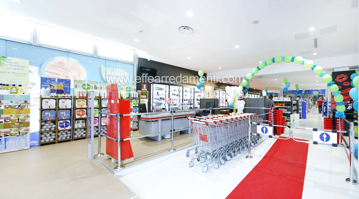 Roller Boxes Area For the Verona and Household Products Shop
