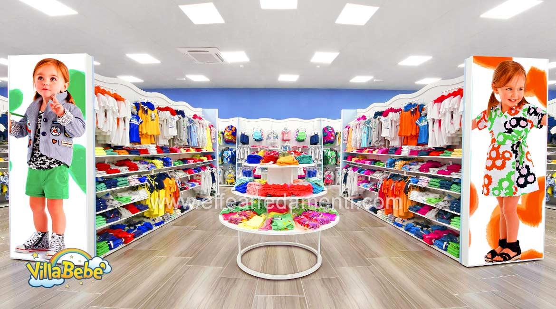Arredamento negozio a salerno abbigliamento per bambini e for Arredamenti per bambini