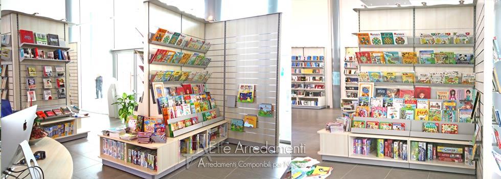 arredamento negozio a scandicci-firenze: libreria - effe arredamenti - Negozi Arredamento Design Firenze