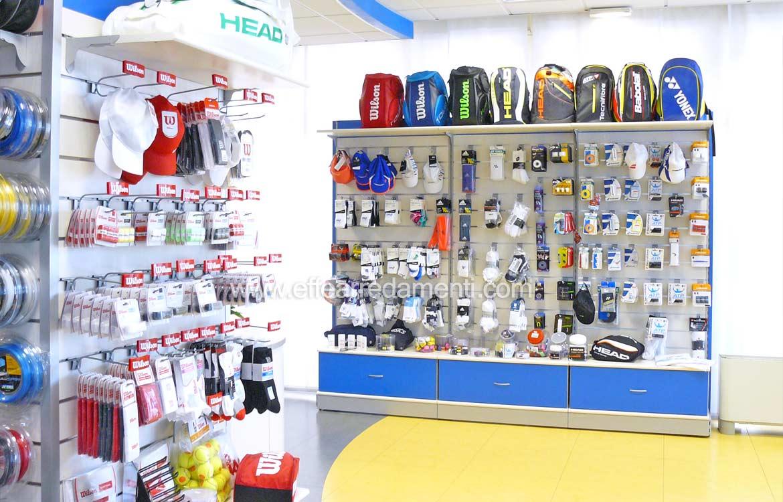 Arredamento negozio a Vicenza: Tennis e sport
