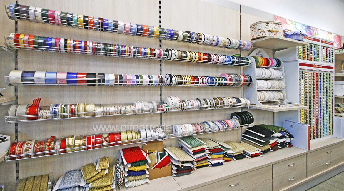 Equipped Wall Furniture Exposure Ribbons Haberdashery