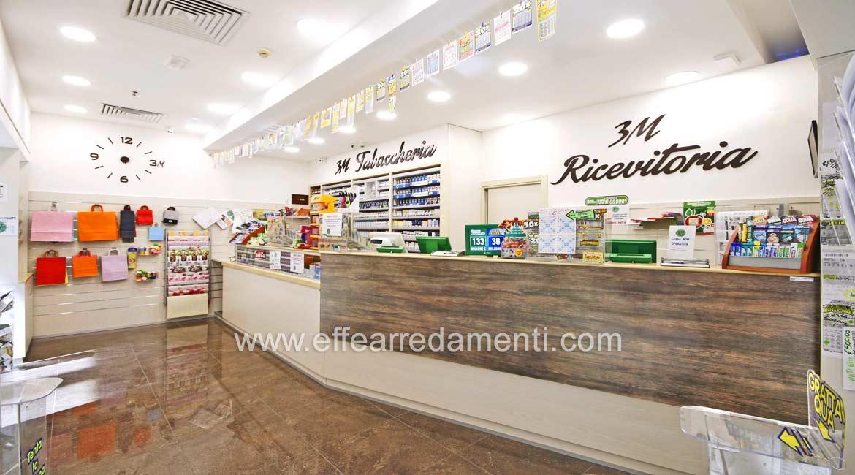 Arredamento negozio a bologna tabaccheria effe arredamenti for Arredo farmacia usato