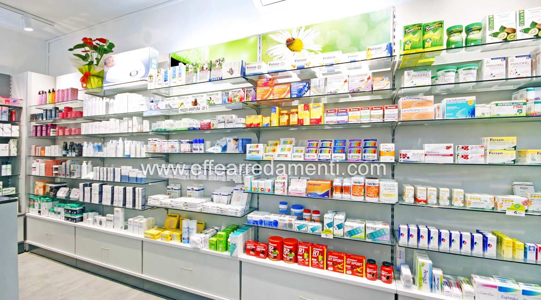 Scaffalature per Farmacie realizzazione a Bologna
