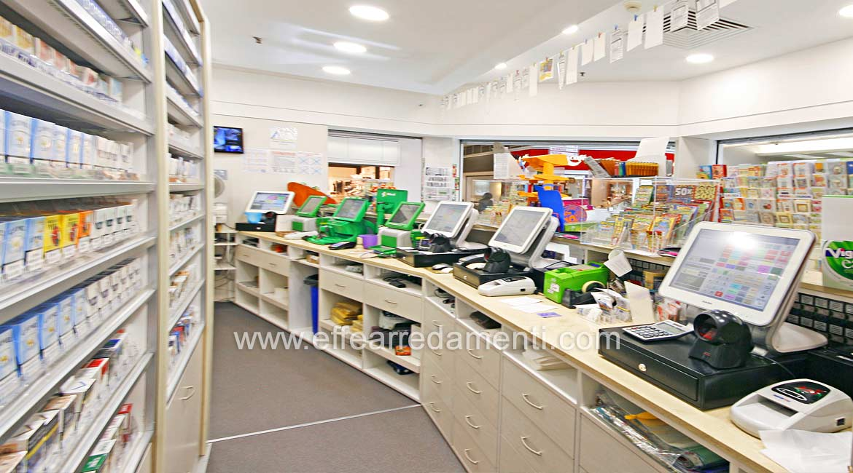 Arredamento negozio a bologna tabaccheria effe arredamenti for Arredamenti a bologna