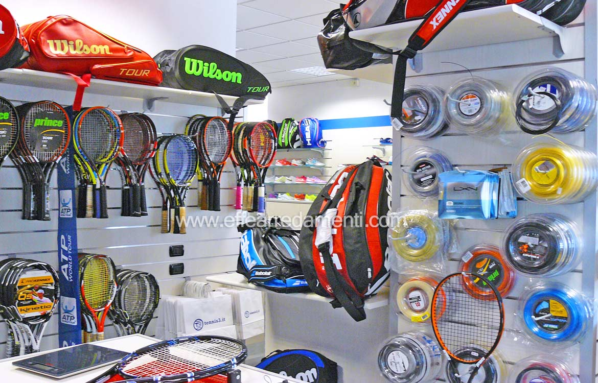 Shop furniture in Vicenza: Tennis and sport