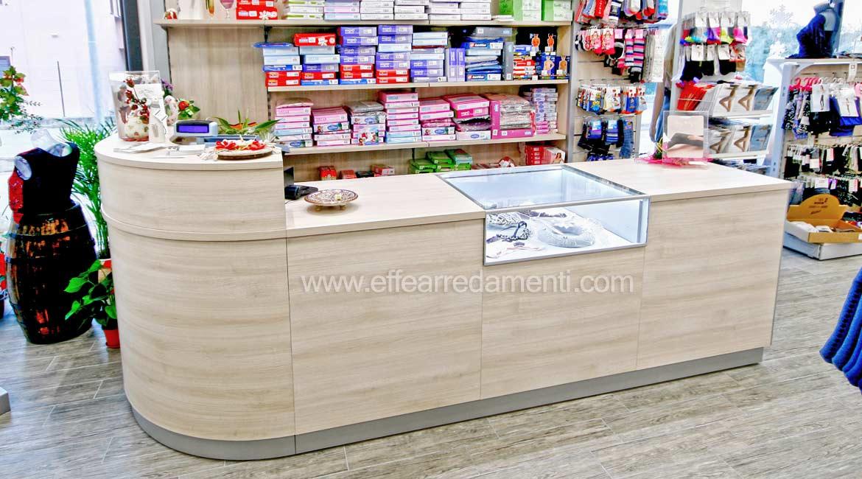 Cash Desk For Merceria Shop made at tuoro sul Trasimento
