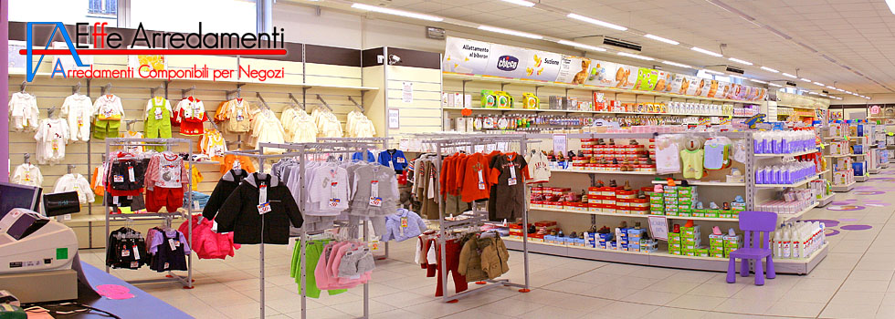 Arredamento negozio a viterbo prodotti per l 39 infanzia for Arredamenti per bambini