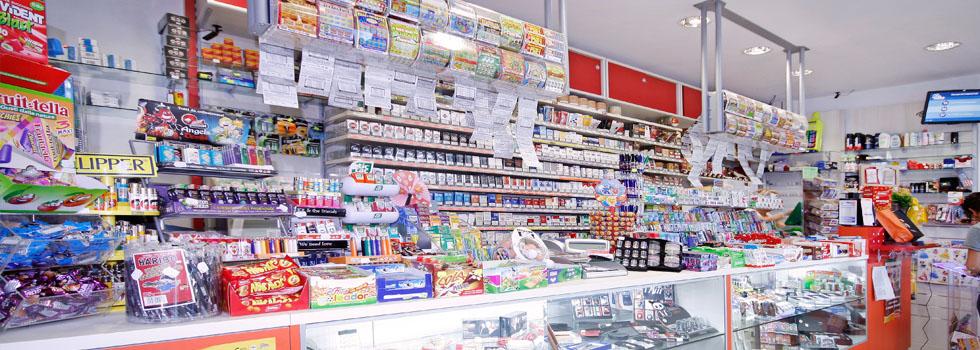 Arredamento negozio ad Arezzo: Tabaccheria