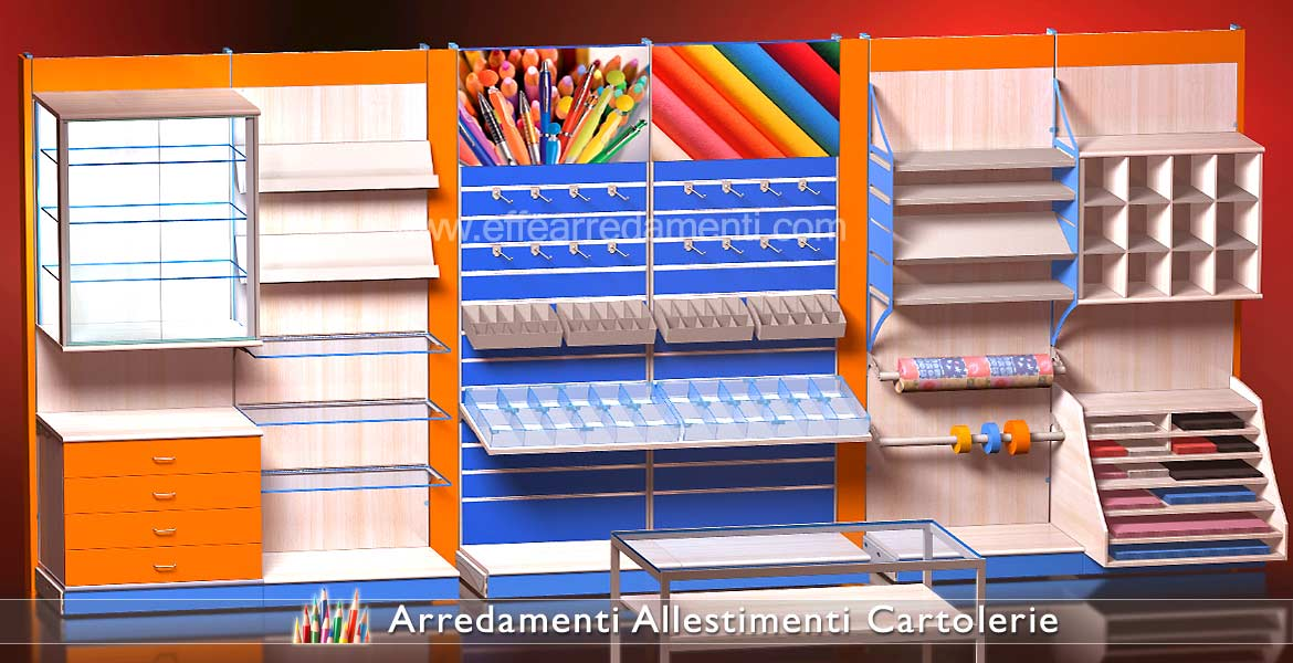 Equipped Wall Furnishings Stationery Display