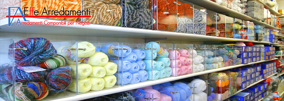 Shop furnishing in Marsciano: Haberdashery