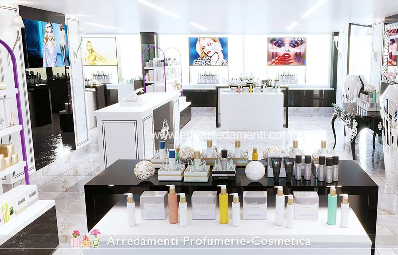Arredamenti per profumerie e cosmetica effe arredamenti for Arredamento basso costo