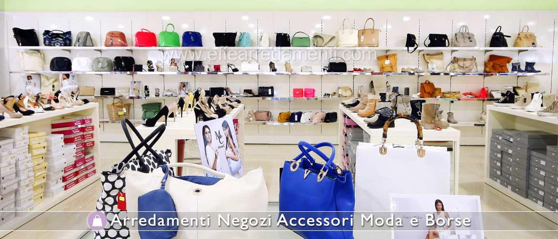 Arredamenti per negozi accessori moda e borse effe for Negozi per mobili