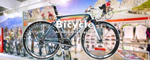 Meubles de magasins de vélos