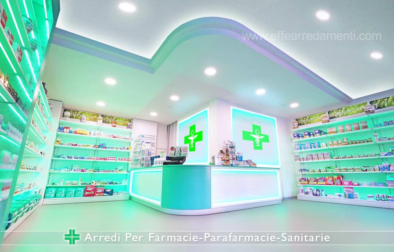 Allestimento Farmacie e parafarmacie