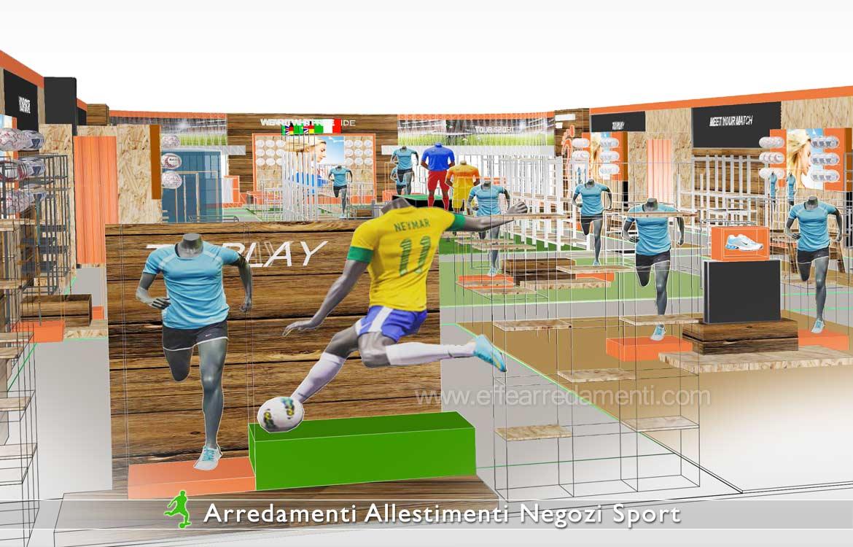 Arredamenti e allestimenti negozi di articoli sportivi for Negozi arredamento como