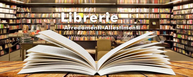 Arredamenti per negozi di libri e librerie effe arredamenti for Arredamento per librerie