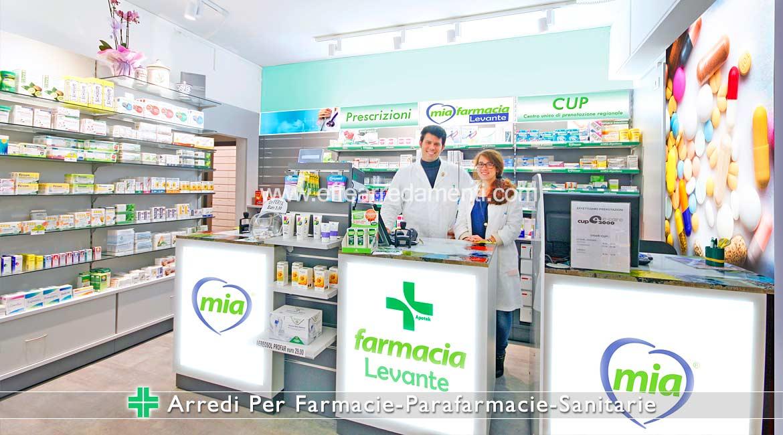 Arredamenti Allestimenti per Farmacie Parafarmacie Ortopedie e Sanitarie