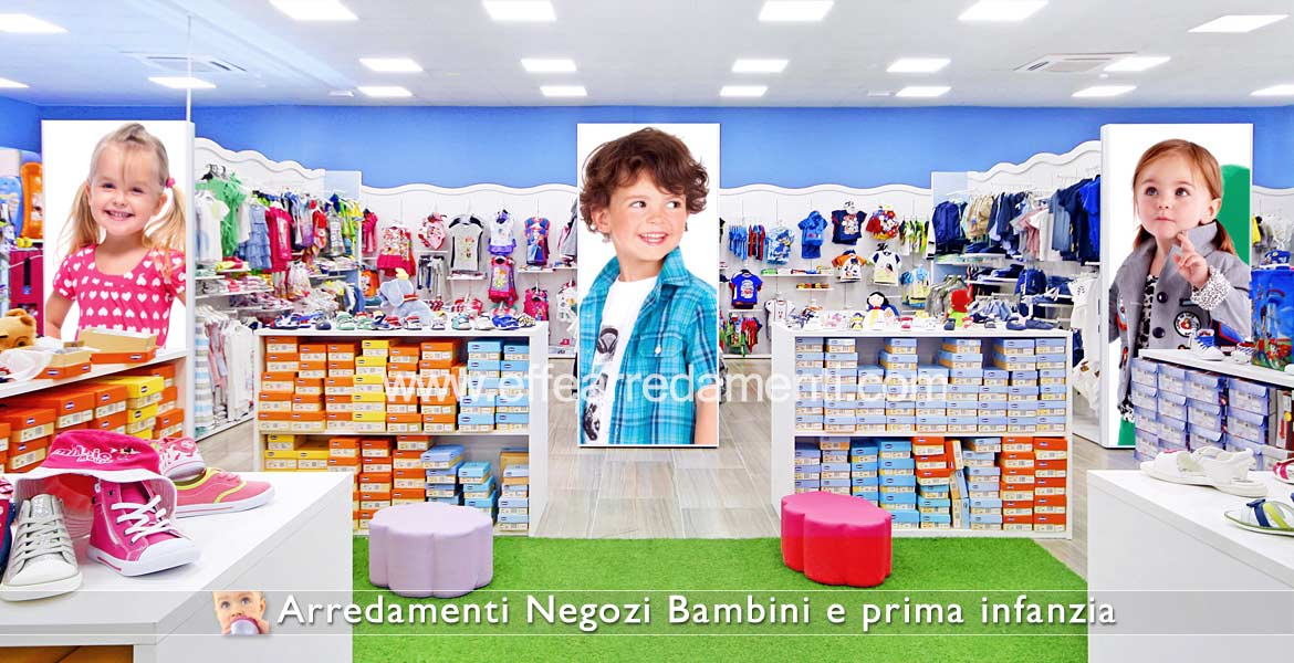 Furniture for Clothing Stores and Children's Shoes