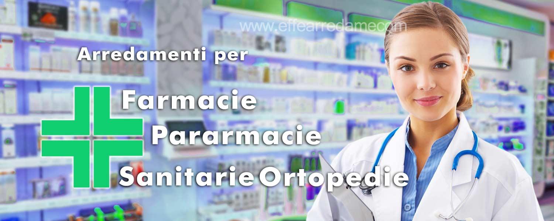Arredamenti per farmacie parafarmacie sanitarie ortopedie for Arredamenti per farmacie