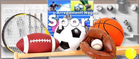 Arredamento negozi sport
