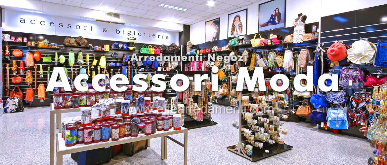 Arredamenti per negozi accessori moda e borse effe for Accessori arredamento