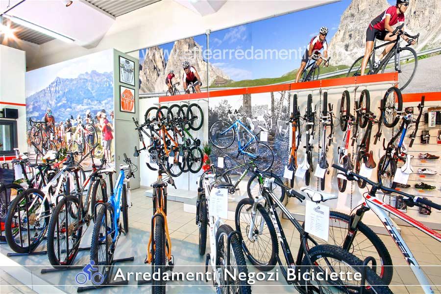 Esposizione Parete Attrezzata per Biciclette