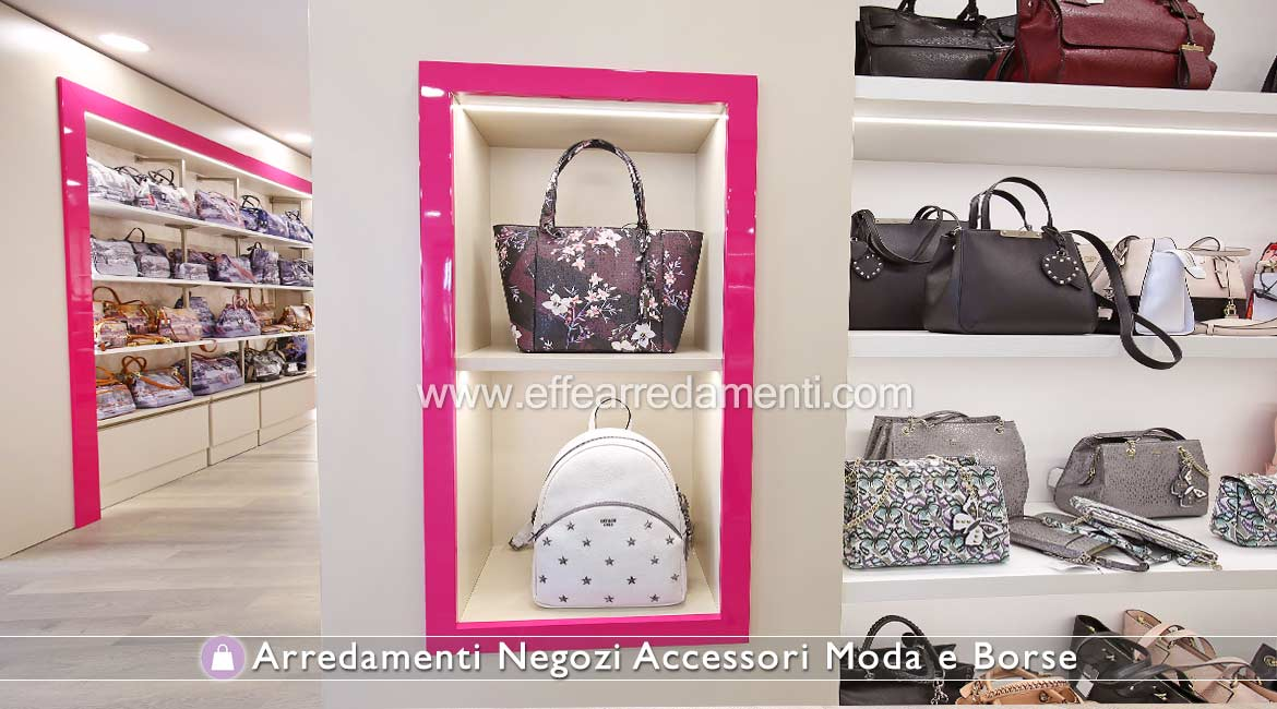 Furniture Illuminated Niches For Shops Accessories Fashion Bags Leather Goods.