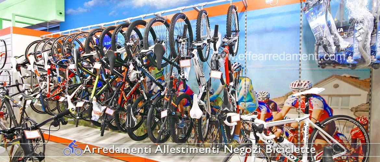 Parete Attrezzata Esposizione Mountain Bike