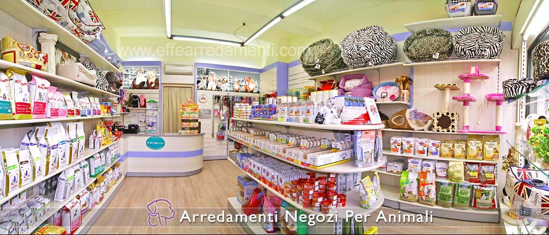 Arredamenti per negozi animali effe arredamenti for Negozi mobili milano