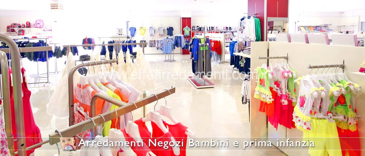 Furniture for children's clothing stores