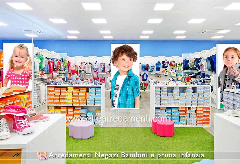 Arredamenti Per Negozi di Abbigliamento e Calzature Per Bambini