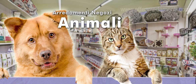 Arredamenti per negozi prodotti animali effe arredamenti for Negozi arredamento pesaro