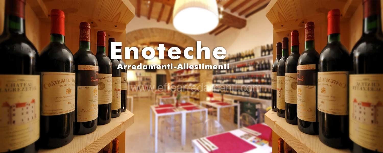 Arredamenti per enoteche e negozi di vini effe arredamenti for Arredamento enoteca usato