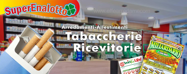 Arredamenti per tabaccherie ricevitorie bar effe arredamenti for Arredamenti per tabaccherie