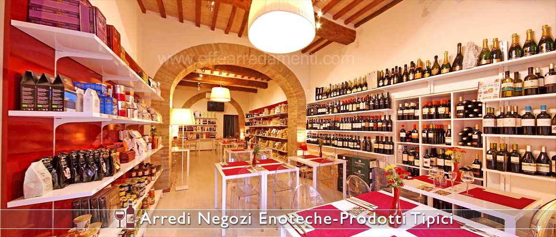 Magasins de vins et de produits typiques