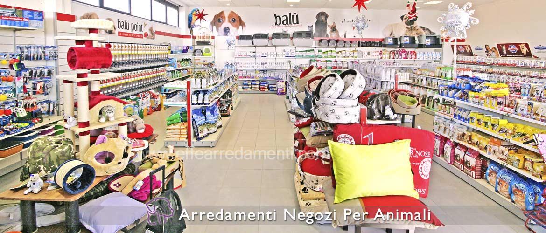 Arredamenti per Negozi Prodotti Animali - Effe Arredamenti