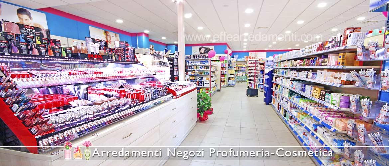 Arredi Negozi di Cosmetica Profumi prodotti pulizia corpo