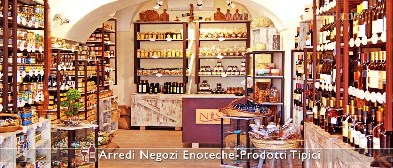 Arredamenti per enoteche e negozi di vini effe arredamenti for Negozio di metallo con appartamento